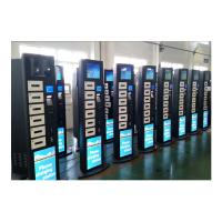 Public Bars Casinos Mobile Device Charging Station Kiosk with 19 Inch Advertising LCD Screen Manufactures