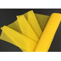 Plain Weave Pet 1500 Meterial Polyester Screen Printing Mesh For Stationary Printing Manufactures
