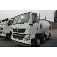 ISO Standard Concrete Mixer Truck With Reduction Box / Motor 290HP Manufactures