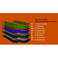 Colorful Corrugated Stone Coated Roof Tile Machine Durable Steel for Making Roof Tiles Manufactures