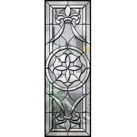 Bear High / Low Temperature Decorative Bathroom Window Glass French Style Manufactures