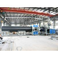 High output Pipe Production Line For Winding Double Wall Pipes Manufactures