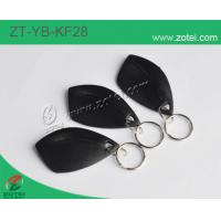 ABS key tag/keyfob/keyring,Model:ZT-YB-KF28,55×31×8mm Manufactures