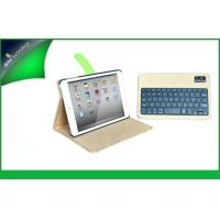 Modern Rotating Leather Ipad Protective Cases , IPad Mini Bluetooth Keyboard Cover Manufactures