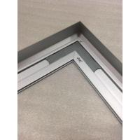 45 Degree Cut Aluminumframes Precision Saw Cutting Aluminum Ceiling Light Frame with Natural Anodized Manufactures