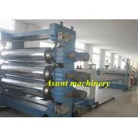 1220mm Width  Board PVC Sheet Production Line with precision gear motor Manufactures