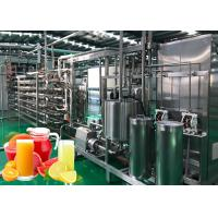 Industrial Lemon Juice Machine Automatic Grapefruit Juice Processing Equipment 3T/H Manufactures