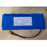China INR18650 Li-ion Battery Pack 36V 10AH with high power dishcarge current For EV on sale
