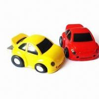 China Car Pen Drives, 12 to 17Mbps Reading Speed and 4 to 6Mbps Writing Speed, Logo Printed Free on sale