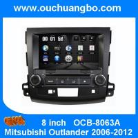 Ouchuangbo HD Video Car Multimedia Kit for Mitsubishi Outlander 2006-2012 GPS System DVD USB iPod Audio OCB-8063A Manufactures