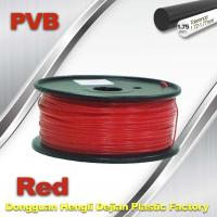 Red PVB 3D Printer Filament 1.75mm / 3d Printer Consumables 0.5KG / Roll Manufactures