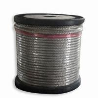 China 304 coated steel wire rope on sale