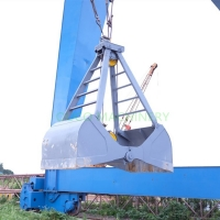 Customized Mechanical 2 Rope Clamshell Grab Bucket Manufactures