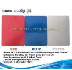 China Nano PET Film and Aluminum Foil Coated Heat Insulation Steel-Al Composite Panel on sale