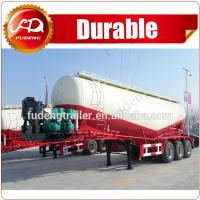 cement bulkers Dry bulk cement powder material silo truck tanker semi trailer--FOB14500 Manufactures