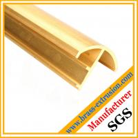 China window door frame brass copper extrusion profiles on sale