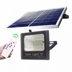 China Outdoor Solar Powered LED Flood Light High Brightness 40W 60W 100W 200Watt on sale