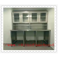 Hospital 304 Or 316  Stainless Steel Work Benches Customized Size Manufactures