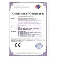 YASIN 3D Technology Co,.Ltd Certifications