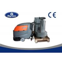 Dycon Easy Operation 175 Rpm Brush Speed Floor Scrubber Dryer Machine , technical Floor Cleaner Manufactures