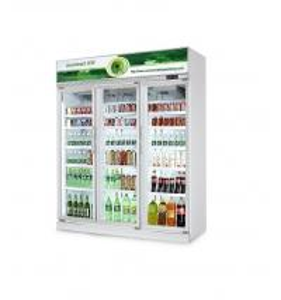 Commercial Drinks Fridge Soft Drinks Display Fridge / Refrigerator Showcase Manufactures