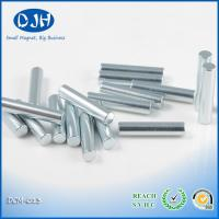 Cylinder Sintered Magnet Round Neodymium Magnets Zinc Coating SGS Certificate Manufactures