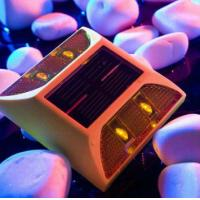 Reflective Solar Plastic Road Stud, High Quality Plastic Road Stud AS-SPRS-9 Manufactures