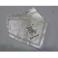 Silver Self Adhesive Removing Beer Bottle Labels Aluminum Foil Heat Resistant Manufactures