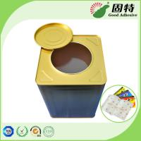 China Solid Pressure Sensitive Hot Melt Glue Yellowish Color For Fly Paper Trap on sale