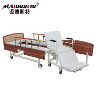 Simple Design Manual Wheelchair Transfer Bed Anti - Rust Stable Steel Beadboard Manufactures