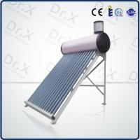 China 200liter compact non pressurized vacuum tube solar hot water heater on sale