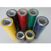 Quality High Voltage Ventilation Colored PVC Electrical Tape 0.19MM Thick High for sale