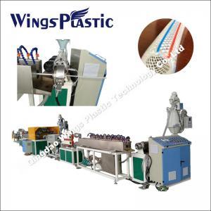 China Plastic PVC Fiber Hose Machine, PVC Reinforced Hose Making Machinery on sale
