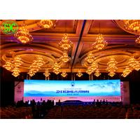 P4 Indoor Full Color LED Display / Red green blue led video panel 256mm*128mm Manufactures