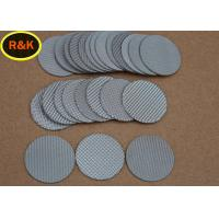 Sintered Metal Wire Mesh Discs For Water Treatment High Strength Wear Resistance Manufactures