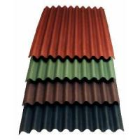 Colored Corrugated Roofing Sheet / Color Per-Painted Corrugated Sheets Manufactures