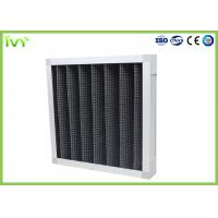Active Carbon Replacement Air Filter 800 - 3200 M³/H Rated Air Flow Panel Odor Remover Manufactures