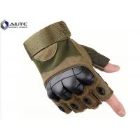 China Riding Law Enforcement Gloves , Hardened Knuckle Gloves Protective High Octane Activity on sale