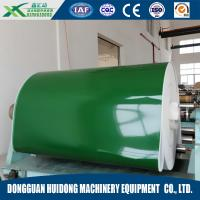 PVC / PU Green Portable Conveyor Belts Flat Surface Production Line Manufactures