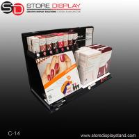 nail polish bottle counter display showbox from factory customized Manufactures