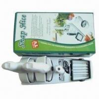Snap slicer for cutting food, made of ABS Manufactures