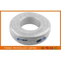 White Fibre Optic Patch Leads With FIC Fast Connector SC / UPC Simplex SM 200M IL Manufactures