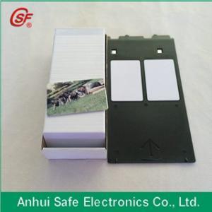 printable blank inkjet pvc card for inkjet printer Manufactures