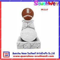 China Polyresin rugby trophy on sale