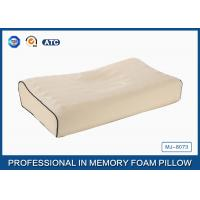 Adults Contoured Orthopedic Memory Foam Cervical Pillow With Massage Effect Manufactures