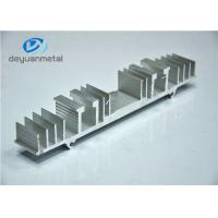 Nature Color Structural Shapes Extruded Aluminum Profiles For Decoration Frame Manufactures