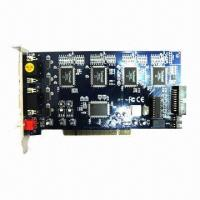 100fps, 10-bit, 16-Channel Video Capture Card, Supports Microsoft