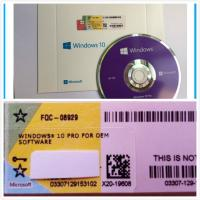 Windows 10 Pro Software OEM Box DVD with coa License , online activation Manufactures