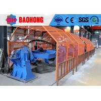 China Electric Round Cable Laying Machine , High Speed Drum Twister 1250/1+4 on sale