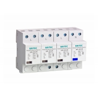 China AC Lightning Arrester 3 Phase IEC61643 BR-50GR Industrial Surge Suppressor on sale